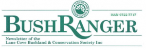 Lane Cove Bushland and Conservation Society Newsletter